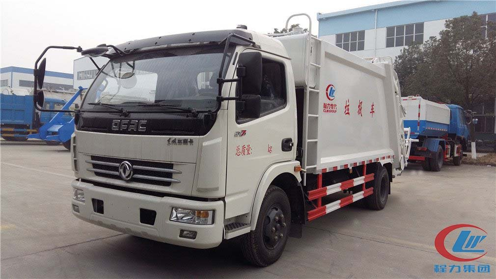 Compression refrigerated truck