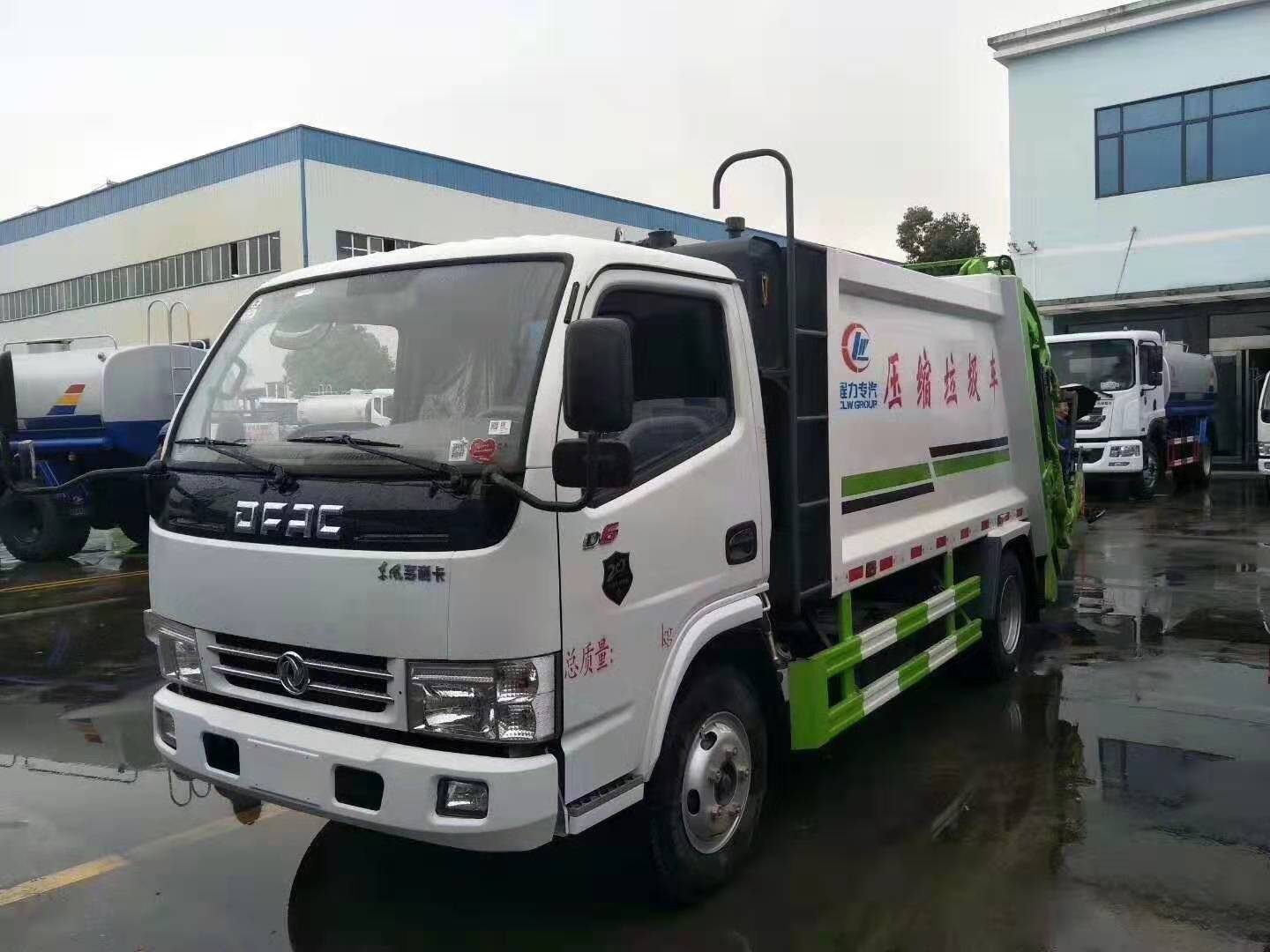 Chengli Special Vehicle Dongfeng Duolika 5  cbm  Compression Garbage Truck
