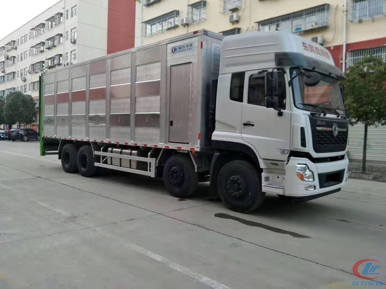 东风天龙铝合金恒温运猪车